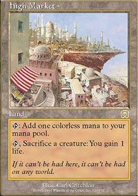 Magic: The Gathering High Market