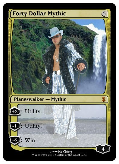 Magic: The Gathering Forty Dollar Mythic