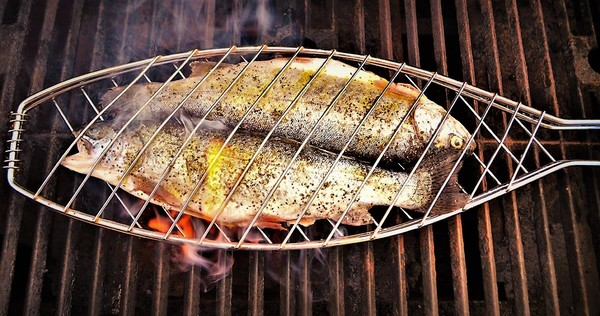 Grill Baskets Fish